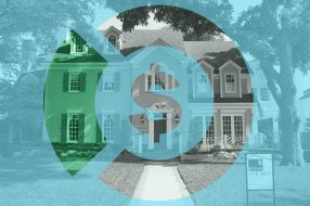 Photo illustration to accompany article on home buying and closing costs