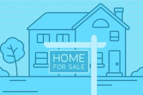 Illustration to accompany article on how to make most money selling a home