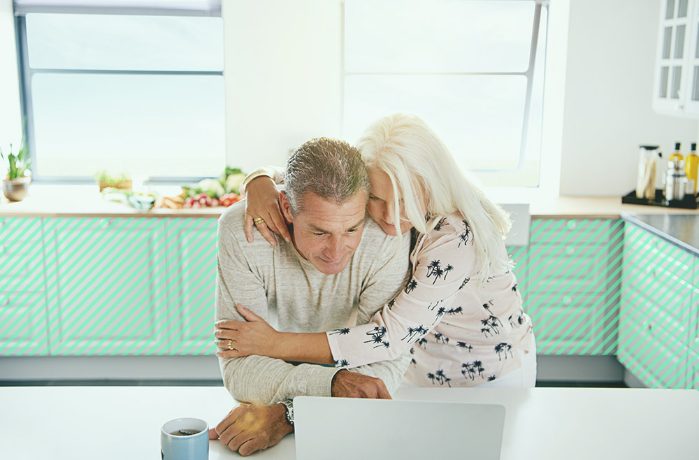 Photo illustration to accompany article on the risks and benefits of refinancing your mortgage