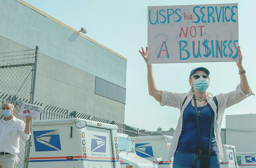 Photo to accompany story about how USPS restrictions could harm small business owners.