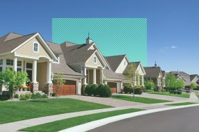 Editorial image to accompany article on 15 year mortgage rates