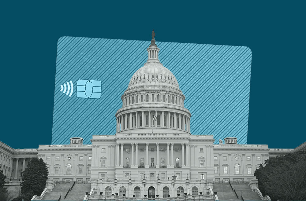 Photo to accompany story about the credit CARD act.