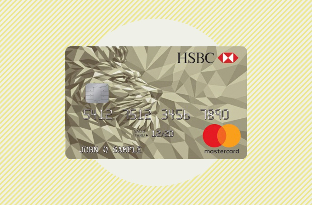 Image to accompany review of the HSBC Gold Mastercard