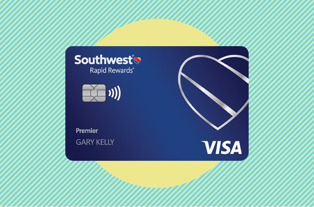 Image showing Southwest Rapid Rewards Premier Credit Card