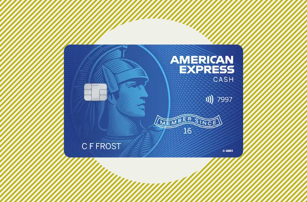 Photo to accompany American Express Cash Magnet review.