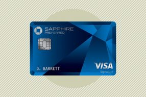 Photo to accompany story about Chase Sapphire Preferred.