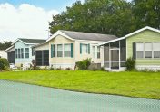 Photo to accompany story about buying a mobile home.