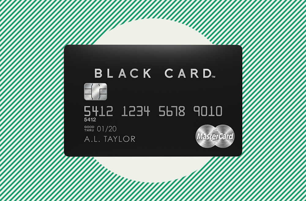 Photo to accompany review of Mastercard Black.