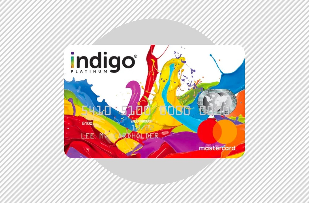 A photo to accompany a story about Indigo Platinum Mastercard