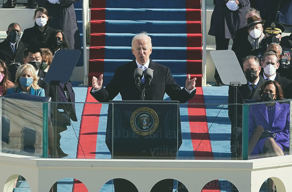 A photo to accompany a story about Biden extending the eviction moratorium