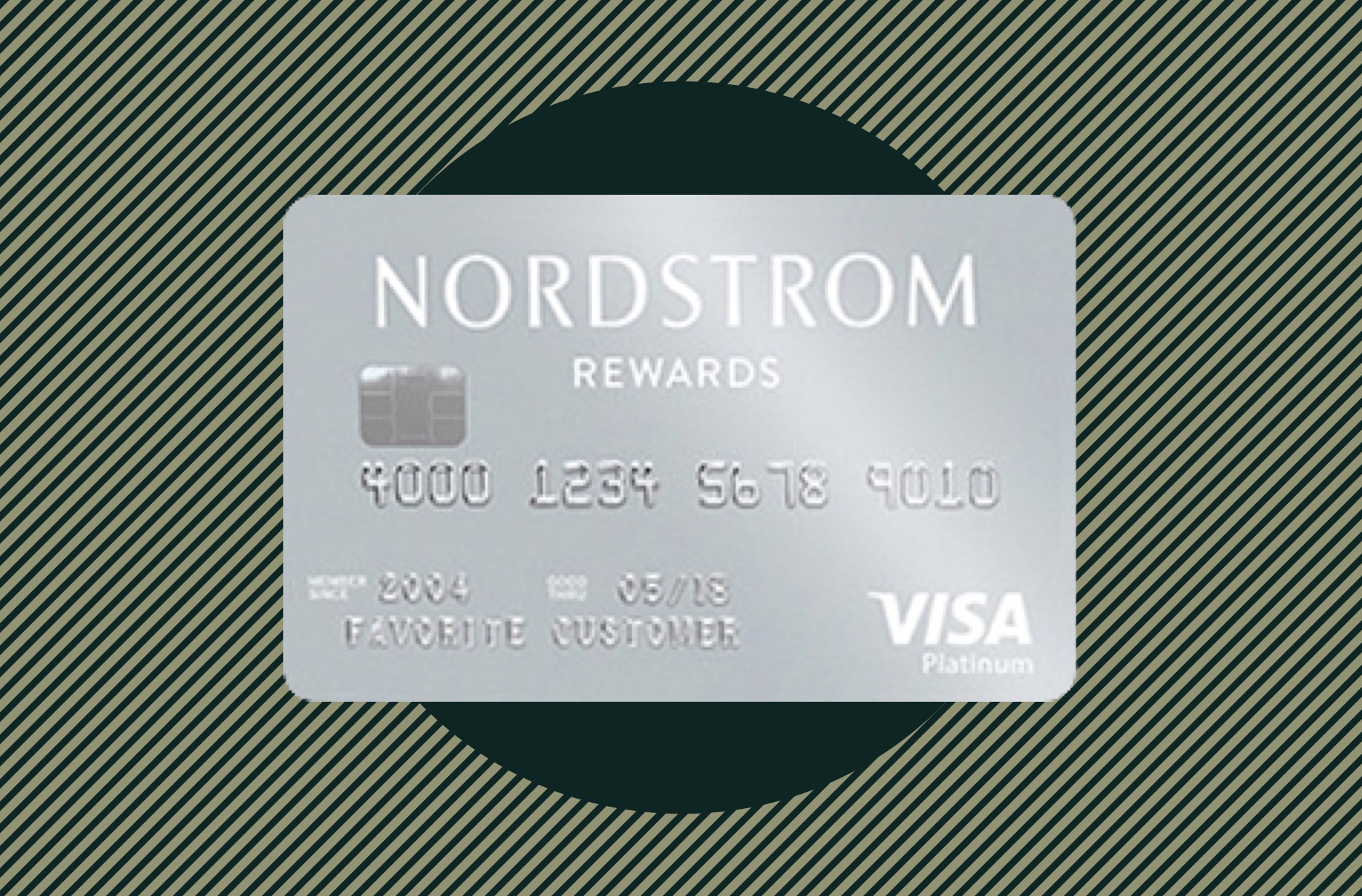 A photo to accompany a story about the Nordstrom Visa Signature Card