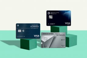 A photo to accompany a story about the best travel credit cards