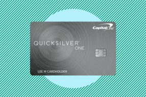 A photo to accompany a story about the Capital One QuicksilverOne Rewards Credit Card