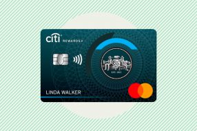 A photo to accompany a story about the Citi Rewards+ Card