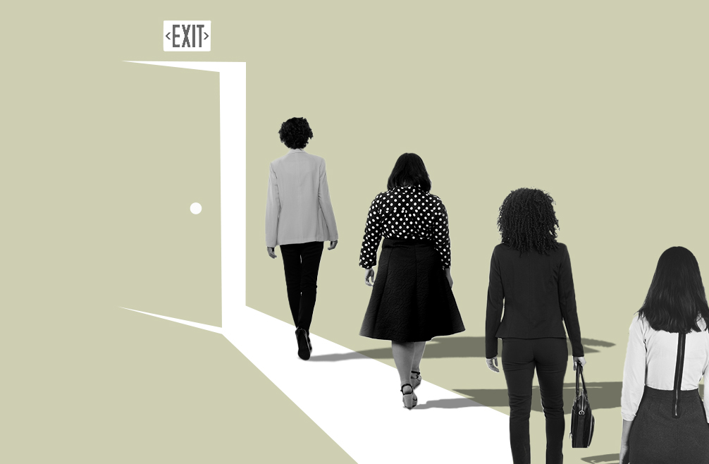 A photo to accompany a story about how women can plan for and return from career breaks