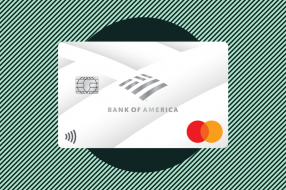 A photo to accompany a review of the BankAmericard Credit Card