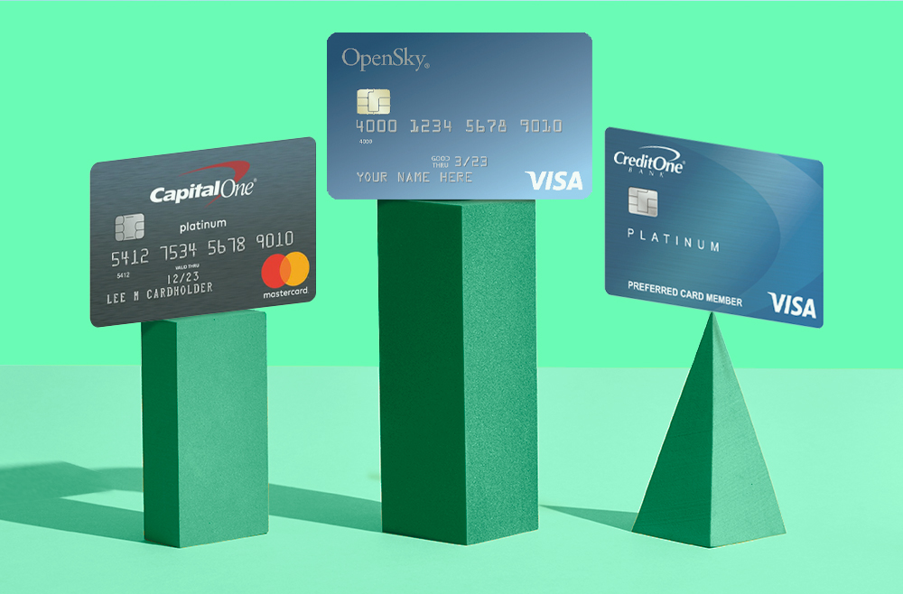 A photo to accompany a story about the best credit cards for bad credit