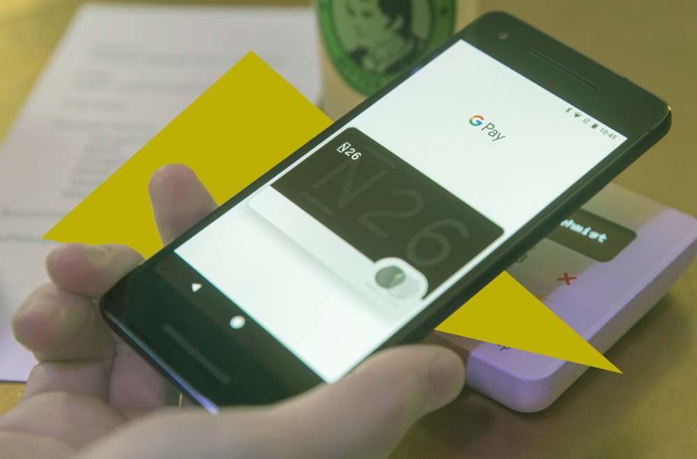 A photo to accompany a guide to using Google Pay