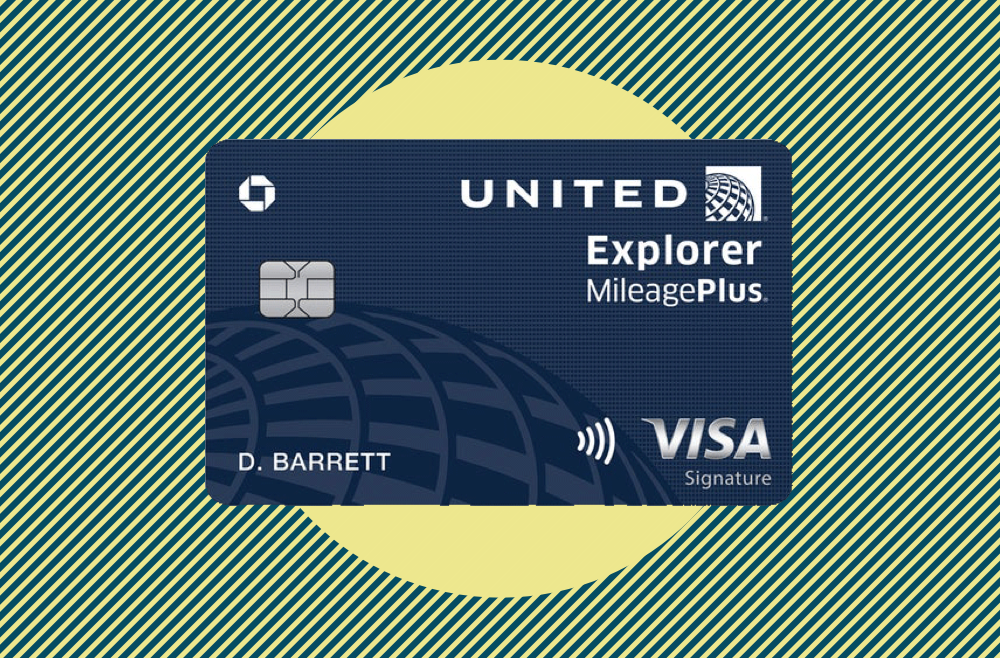 A photo to accompany a review of the United Explorer credit card