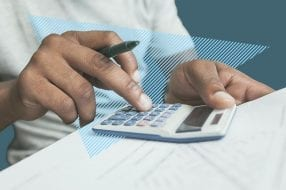 A photo to accompany a story about calculating loan interest