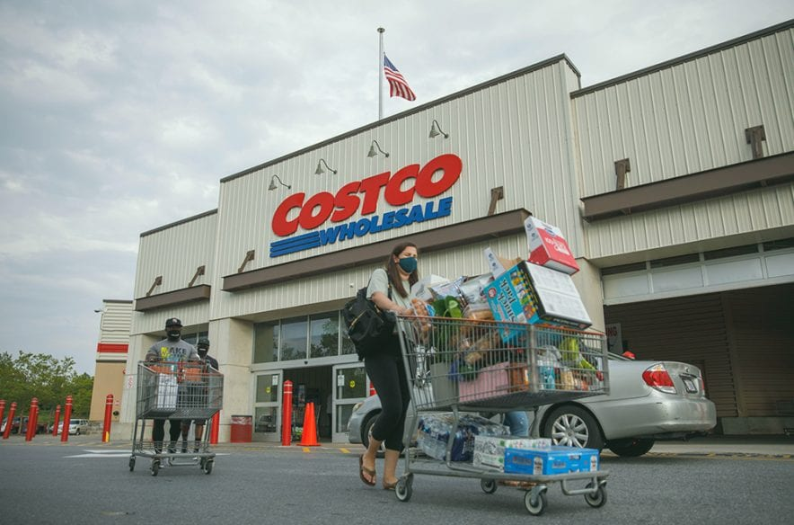 A photo to accompany a story about the Costco Anywhere Visa® Card by Citi