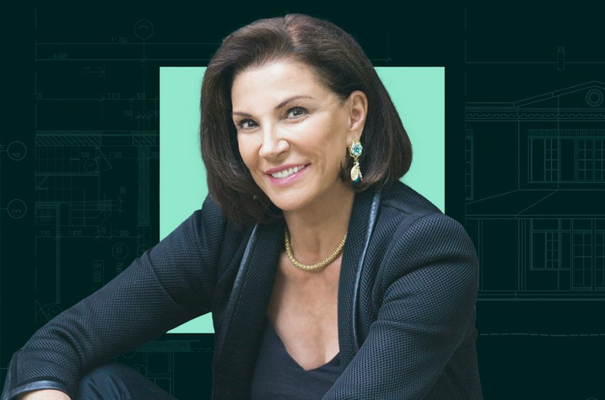 A photo to accompany an interview with Hilary Farr
