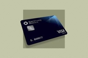 A photo to accompany a story about the Chase Sapphire Reserve credit card