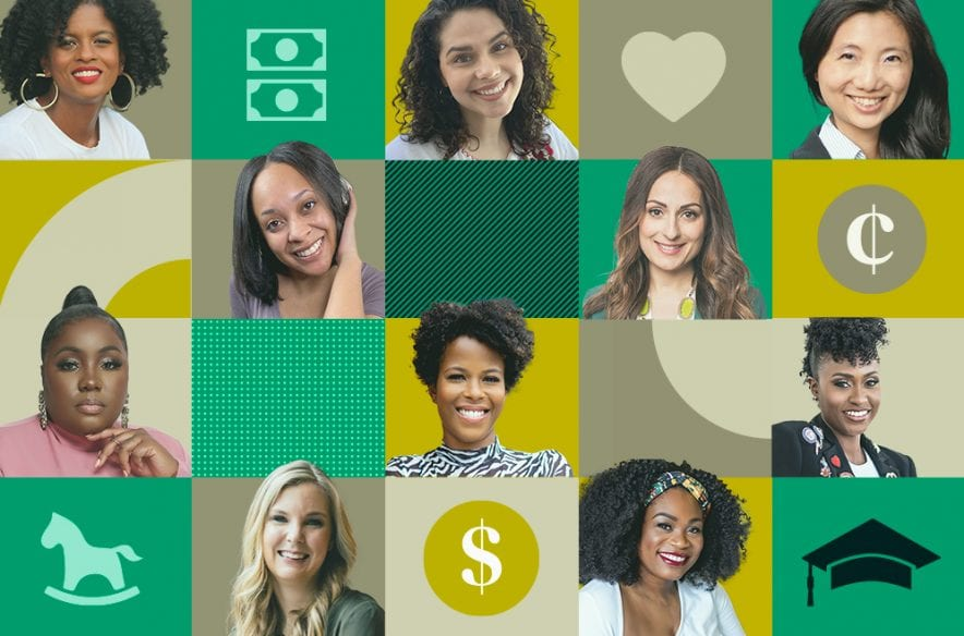 A photo to accompany a story about 10 moms you should follow on social media for financial advice