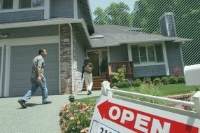 A photo to accompany a story about the upcoming homebuying season