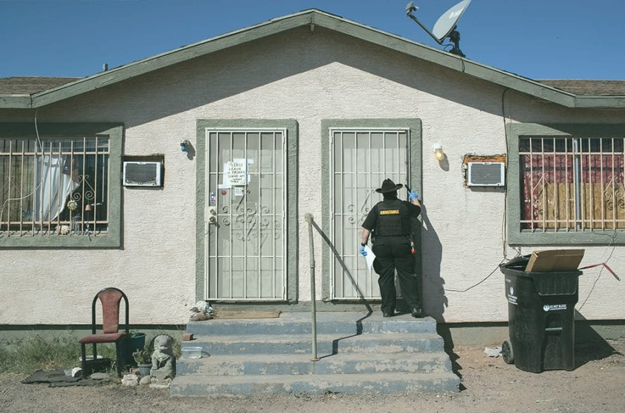 A photo to accompany a story about eviction bans expiring
