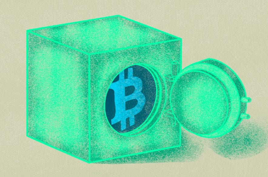 A photo to accompany a story about what is Bitcoin