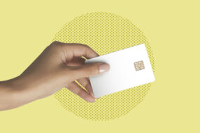A photo to accompany a story about credit card news