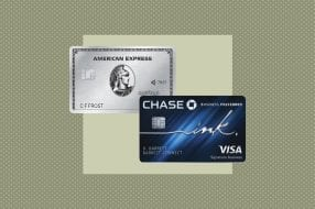 A photo to accompany a story about the American Express Business Platinum card vs. the Chase Ink Business Preferred card