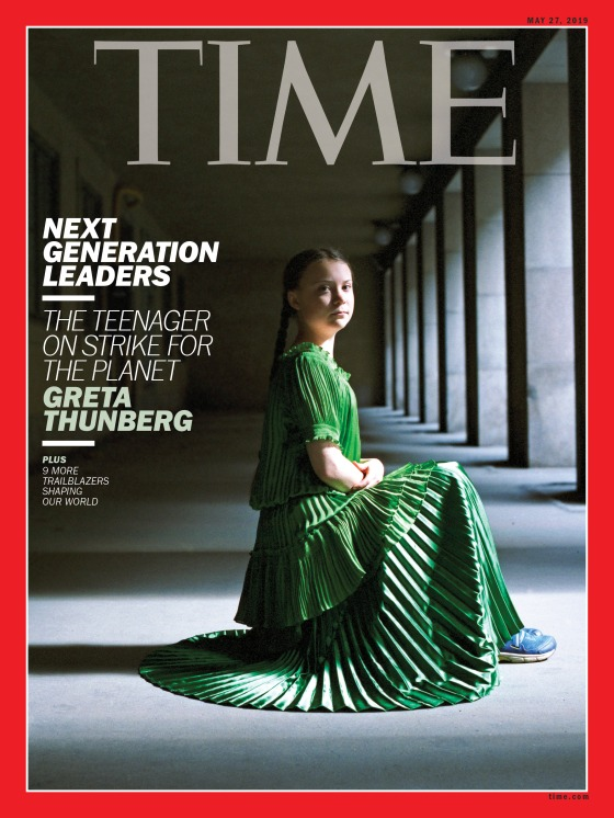 Next Generation Leaders Greta Thunberg Time Magazine Cover
